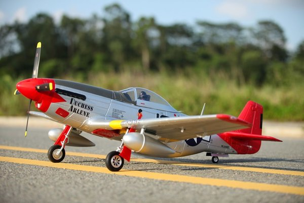 P-51D Mustang V8 Red Tail