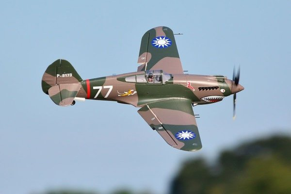 P-40B Curtiss Warhawk Flying Tiger